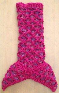 Loom knit Mermaid blanket