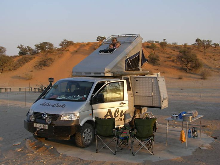 Camping in Africa!   African VW Alu Cab Camper