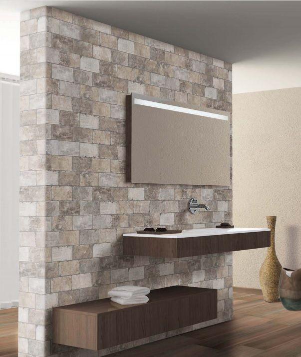Een mooie brick. Leuk voor een muur in de slaapkamer (66) (vloertegel, wandtegel,plavuizen,muurtegel, bricks, bakstenen, wc, hal, woonkamer) Tegelhuys.
