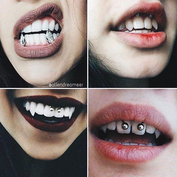 #piercings #vampire #cool