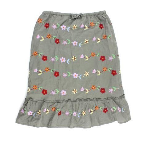 Mini Boden for girls, Mini Boden skirt, floral skirt, skirt for girls