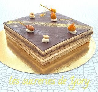 les sucreries de Yory: opera praliné chocolat