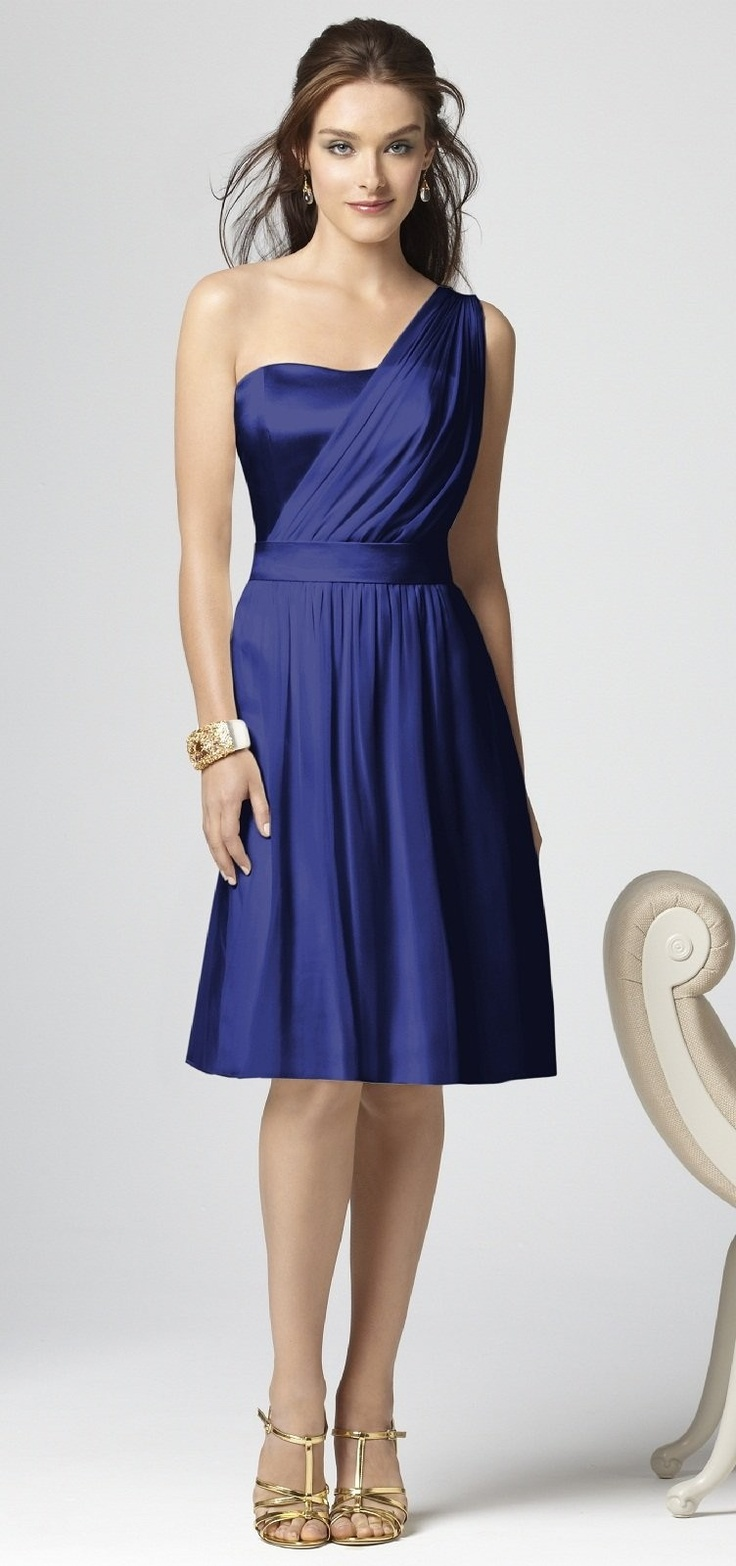 Bridesmaid- Dessy Style 2862, Sailor Blue    http://www.dessy.com/dresses/bridesmaid/2862/#.T_ZNm3AWNW4