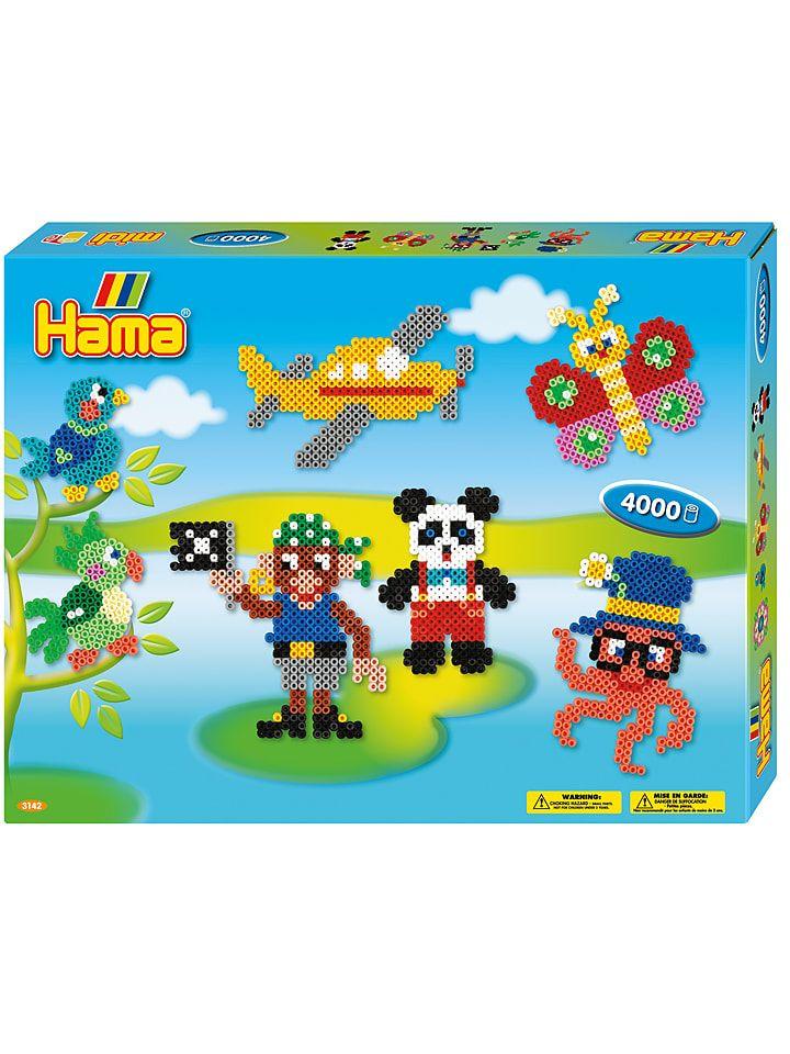 Hama Midi 3241 Bugelperlen Set Tierkopfe Kleine Tiere