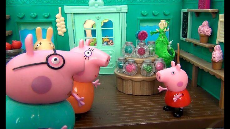 Peppa Pig in italiano. Dov'è George? Peppa Pig, Mamma Pig e Papa Pig sta...