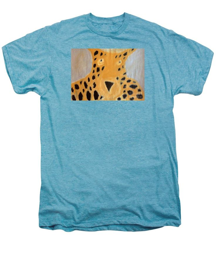 Patrick Francis Premium T-Shirt featuring the painting Cheetah 2014 by Patrick Francis