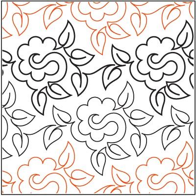 Gardenia  A single row is 7