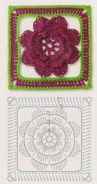500 best Aplicaciones en crochet images on Pinterest | Patrones de ...