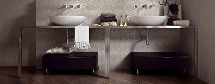 Sjekk dette nydelige badet; du får det hos oss 😉#norfloor