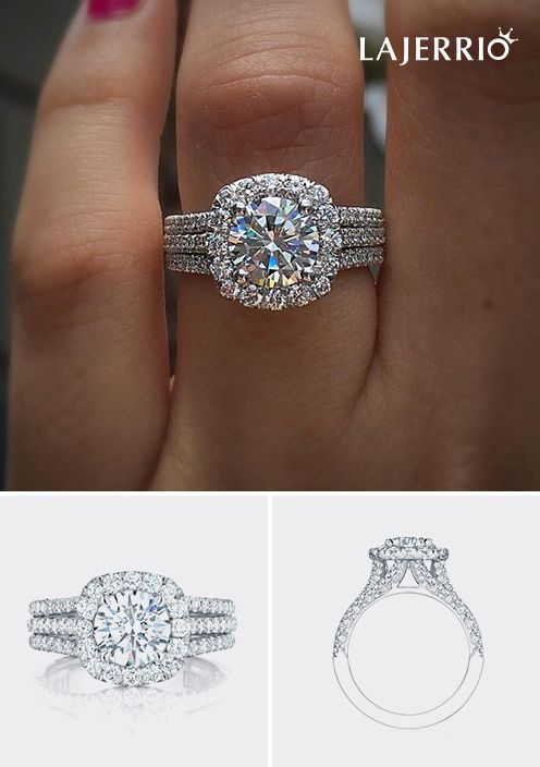6ea3e344e #602069, Lajerrio Jewelry engravable #engagement#rings for her for him for  couples