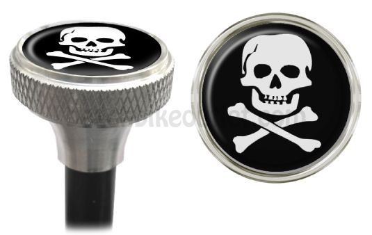 Swell Skull Bicycle Valve Caps | Beach Bike Outlet
