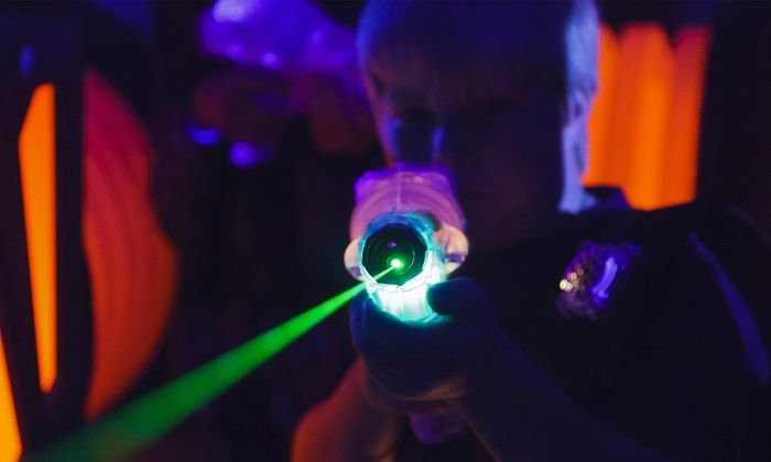 The Castle Laser Tag - Bowie: Two Games of Laser Tag for Two, Four, or Six at The Castle Laser Tag (Up to 45% Off)