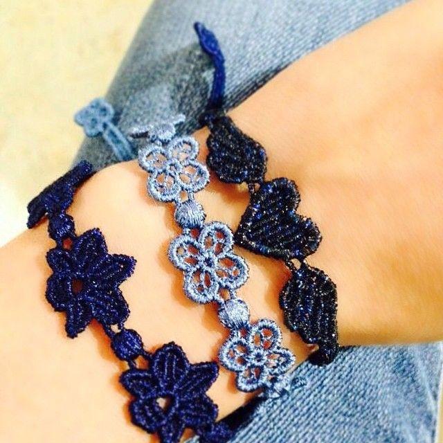 Cruciani Orchid (in navy blue), Happy (in steel blue), Angel Heart (in carbon multinight)
