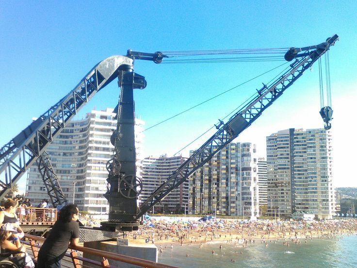 Muelle Vergsra Viña del Mar