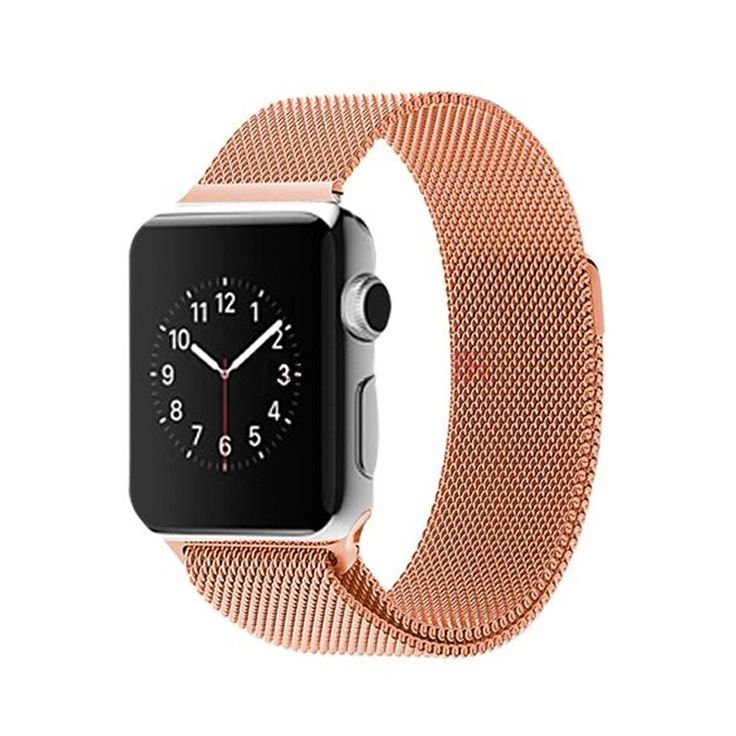 ZJM Нержавеющей Стали Ремешок для Apple Watch Ремешок Миланской Loop Band & Ссылка Браслет 42 мм/38 мм купить на…