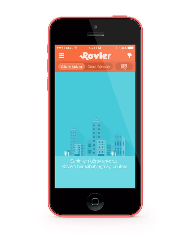 Rovler mobile app on Behance