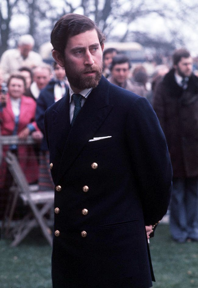 The Bearded Days. Prince Charles, 1976.