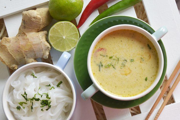 Tajskie smaki bardzo lubię, jednak w domu nigdy nie udaje mi się odtworzyć takich, jak na warsztatach kulinarnych