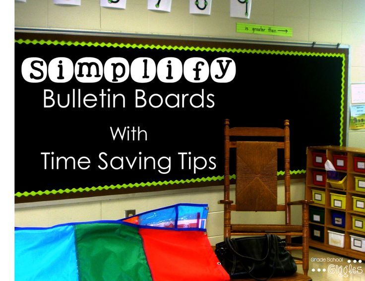 Time Saving Tips to Simplify Bulletin Boards: Bulletin boards don't have to take up a lot of time to be effective and attractive.