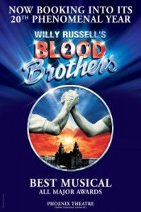 Blood Brothers. Had the incredible honor of seeing this in London. Fantastic show!