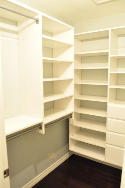 This Is The Martha Stewart Closet System: Dream Closet  Installation