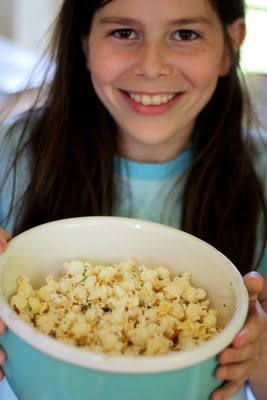 Dill Pickle Popcorn - I'm guessing this is as addicting as advertised! Can totally add this seasoning after popping, so bring it to the party!