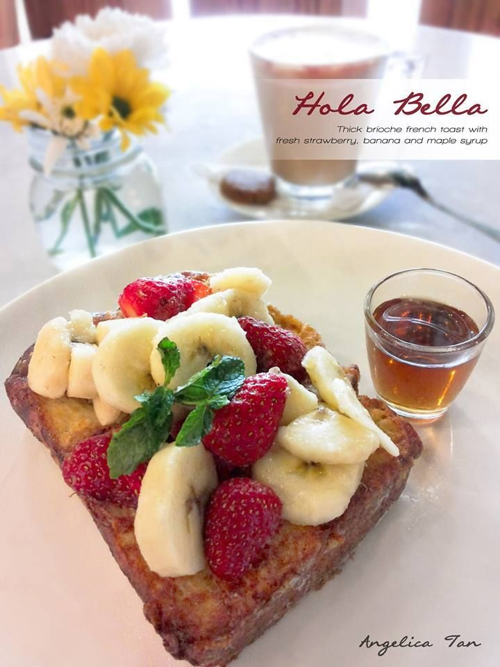 Enjoy Hola Bella for Breakfast ONLY at Hummingbird Eatery