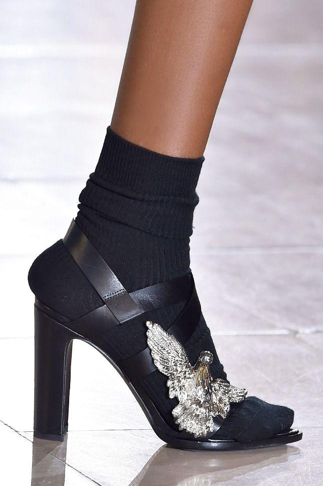 Парижская Неделя моды: фото обуви с показов сезона осень-зима 2015   Vogue   Мода   Выбор VOGUE   VOGUE