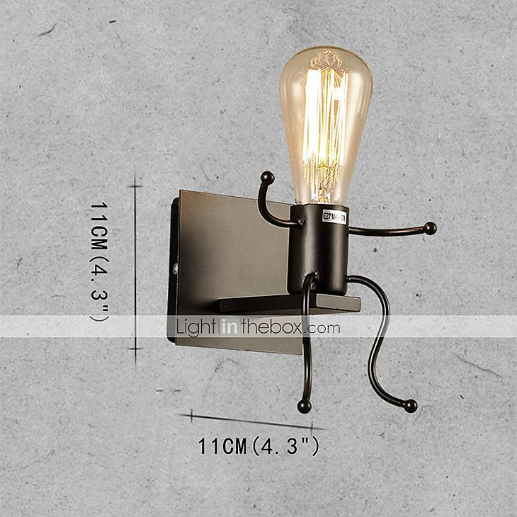 [€17.49]   E27 Modern/Contemporary Rustic/Lodge Novelty Painting Feature for Mini Style,Ambient Light