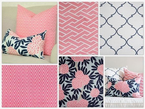 navy pink nursery bedding pink and navy blue crib bedding cute bedroom ideas for my. Black Bedroom Furniture Sets. Home Design Ideas