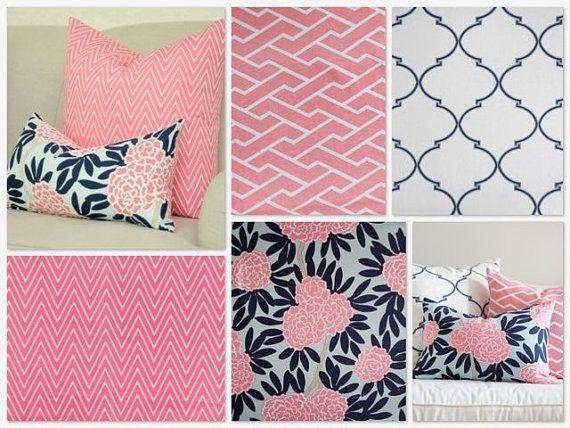 Navy Pink Nursery Bedding Pink And Navy Blue Crib