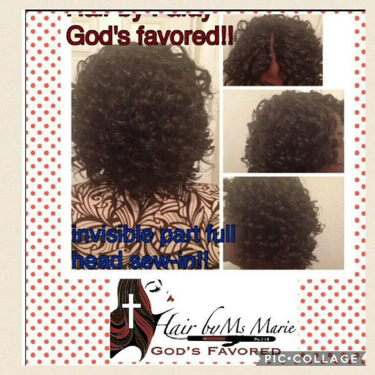 Hair By Ms Marie: Invisible Part Full Sew-in #InvisiblePartFullSewIn #HairByMsMarieGodsFavored