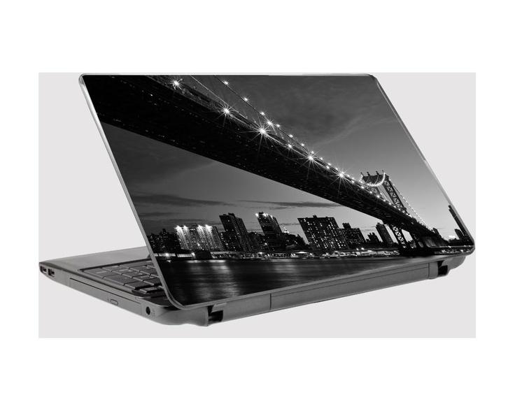 Η γέφυρα του Μανχάταν,Αυτοκόλλητο laptop,λαπτοπ,aftokollito laptop