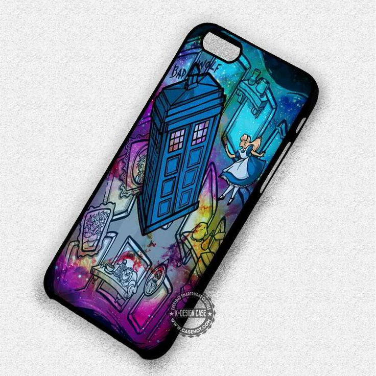 Trapped in Tardis Alice in wonderland - iPhone 7 6 5 SE Cases & Covers