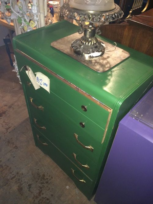 Sturdy, lightly used chest drawer with a cool retro feel. Perfect for any  bedroom