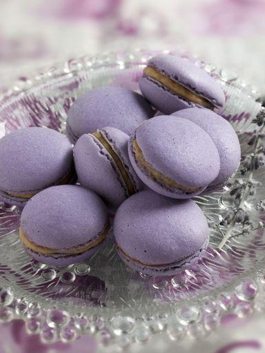 Macarons foie gras / figues - Recette de cuisine Marmiton : une recette