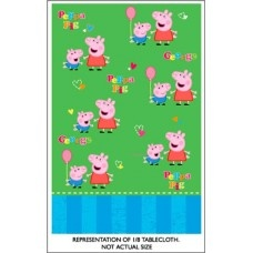 Party Table Cover - Peppa Pig
