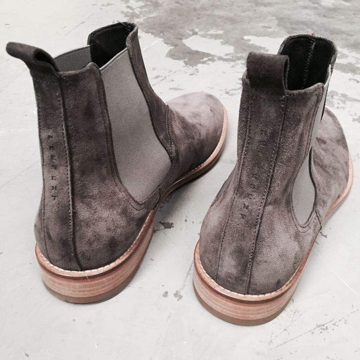 The Best Men S Shoes And Footwear Represent Clo Wolf Grey Chelsea Boot Italian Calf Suede Constructed Leather Fashion Inspire Fashion Inspiration Chelsea Boots Men Chelsea Boots Boots
