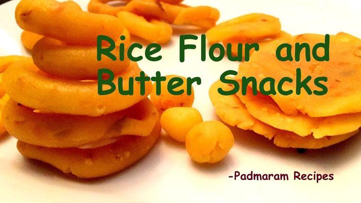 Rice Flour and Butter Snacks Telugu Recipe || Chegodi | Chekkalu | Palak...