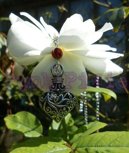 Old gothic heart pendant by Punk Pixie