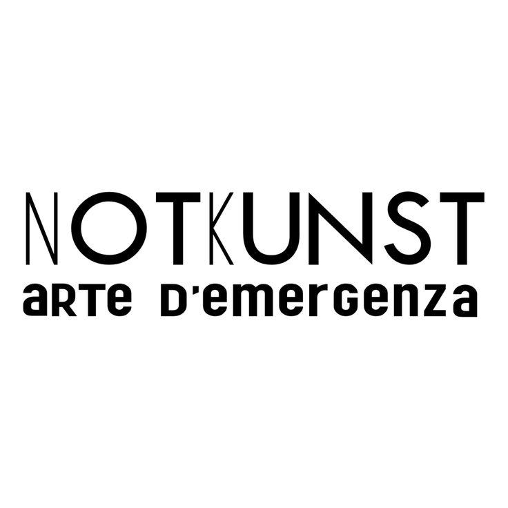 logo Notkunst arte d'emergenza ©2013