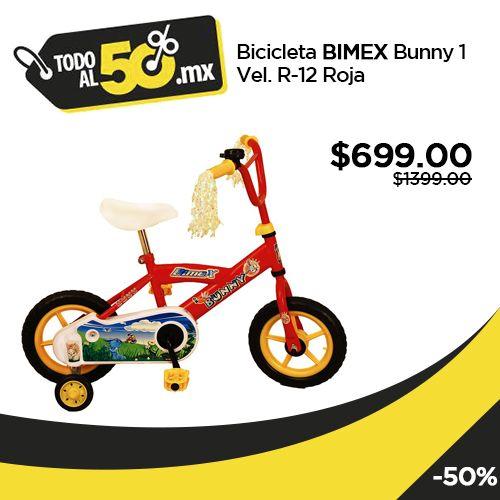 Bicicleta #Bimex Bunny