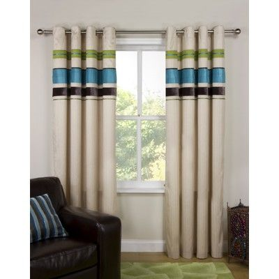 Joseph lined eyelet curtains Multi, love the colours but think it would probably clash with everything else I own...