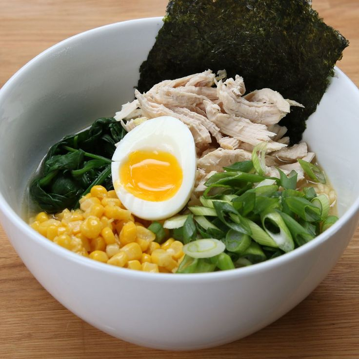 Easy Chicken Miso Ramen Recipe by Tasty
