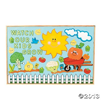 144 Pc. Garden Bulletin Board Set $11 per 144 pc set
