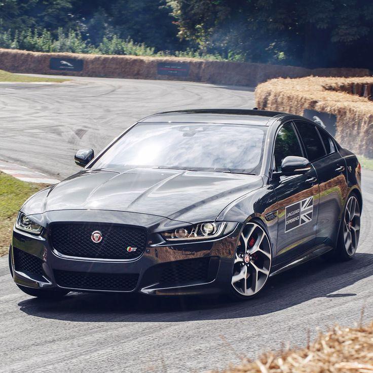 "Jaguar (@jaguar) on Instagram: ""Just like a #Jaguar should. #XE #Goodwood #FOS #Sport #Saloon #AWD #InstaCar"""