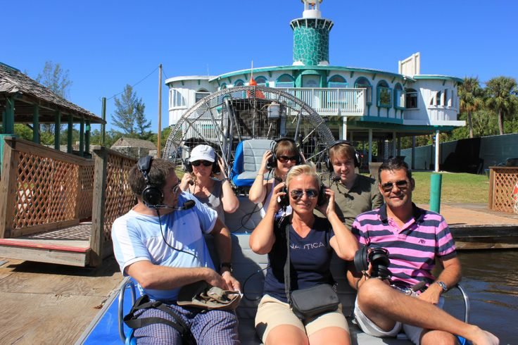 Everglades City Airboat Tours - Fully narrated adventure with two-way headsets!