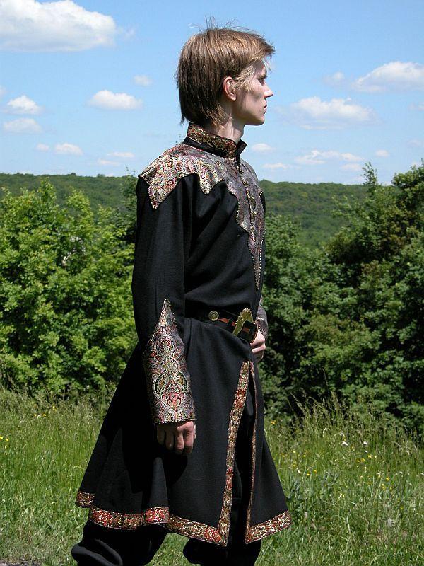 Elven Prince Brocade Tunic for hubby for Renaissance fair (Robin)