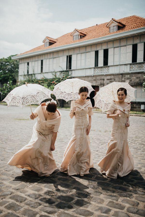 Sie werden sich in diese königliche philippinische Hochzeit in Bataan verlieben! | Brautpaar …   – Bridesmaids and Bachelorette