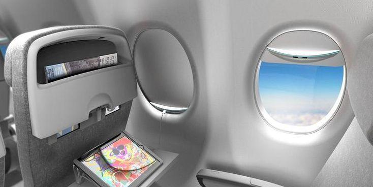 Esta persiana de ventanilla de avión produce electricidad para los gadgets   Microsiervos (Tecnología)